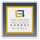 Theo Paphitis #SBS Logo