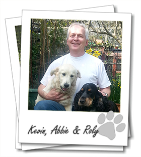 Kevin Wright owner of St Albans dog boarding company Wagging Tails