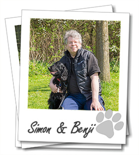 Simon Eccles owner of Aylesbury dog boarding company Wagging Tails