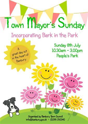 Town Mayor's Sunday 2018. People's Park, Banbury.