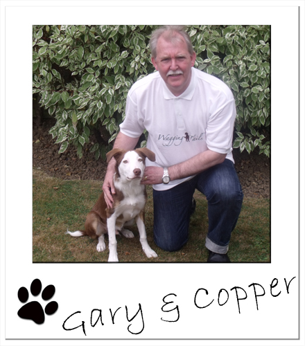 N Branch franchisee, Gary Spencer-Todd with his dog Copper