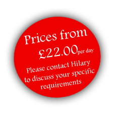 Prices from £22 per day