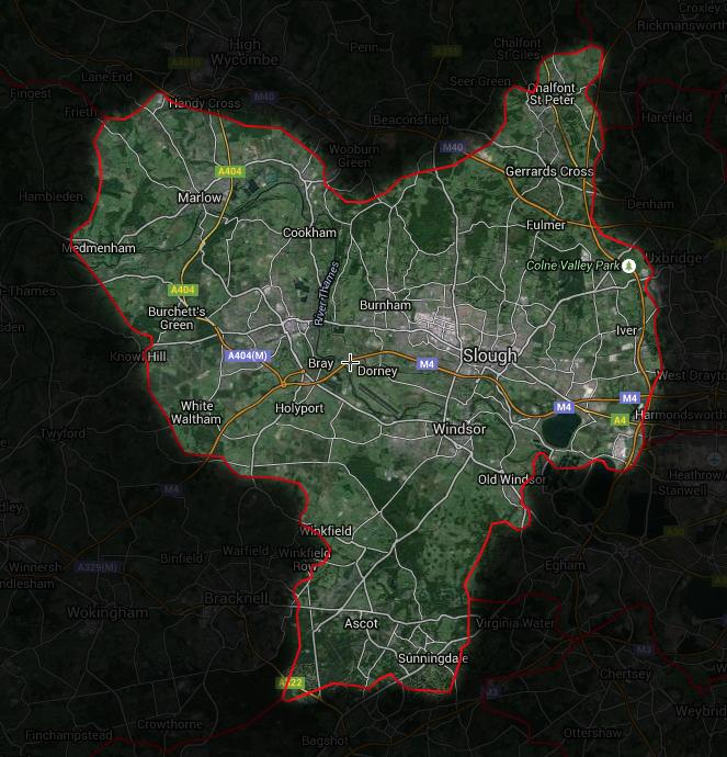 SL Postcode Map