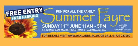 Oaklands College Summer Fayre 2017