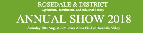 Rosedale & District Annual Show 2018