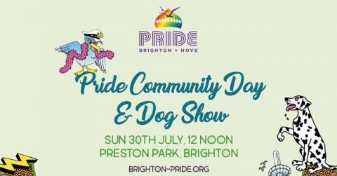 Pride Dog Show 2017, Preston Park, Brighton