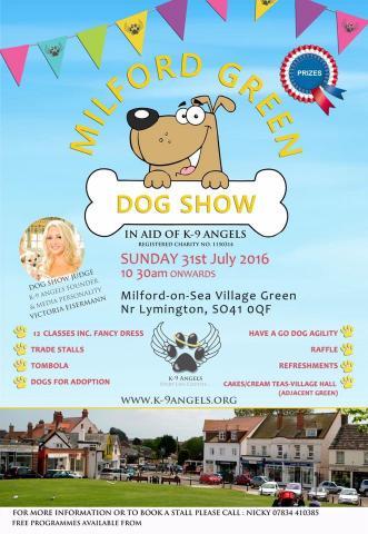 Milford Dog Show 2016