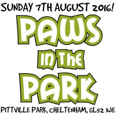 Paws in the Park Cheltenham 2016