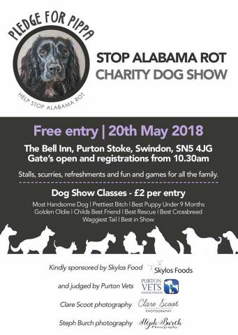 Pledge for Pippa Stop Alabama Rot Charity Dog Show