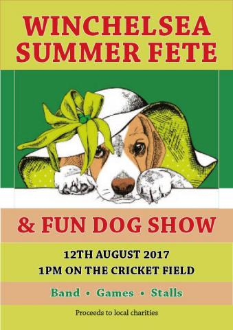 Winchelsea Summer Fete and Fun Dog Show 2017